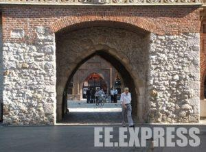 Florian Gate as One from the sights of Krakow