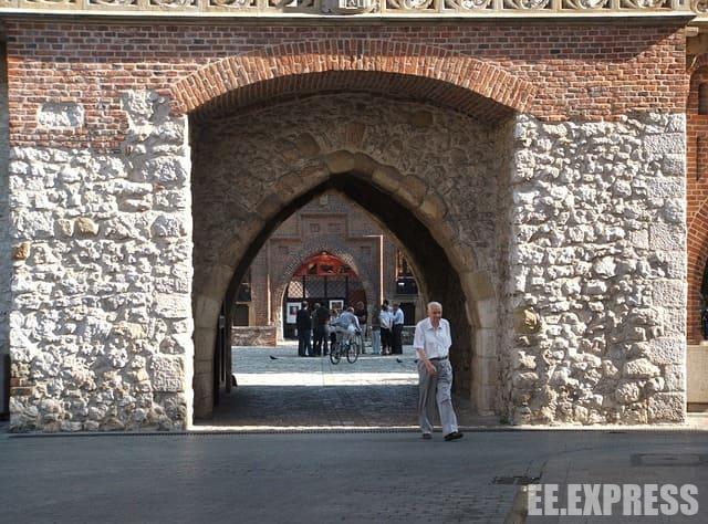 Флоріанські ворота як одна з визначних пам'яток Кракова