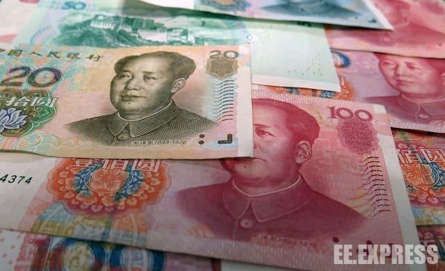 Китайский юань, динамика роста/падения