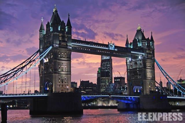 The most beautiful cities in Europe - London