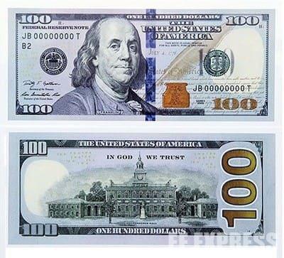 нові долари сша