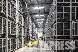 Own warehouses for cargo storage