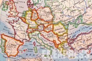 Страны Европы, сколько стран в Европе