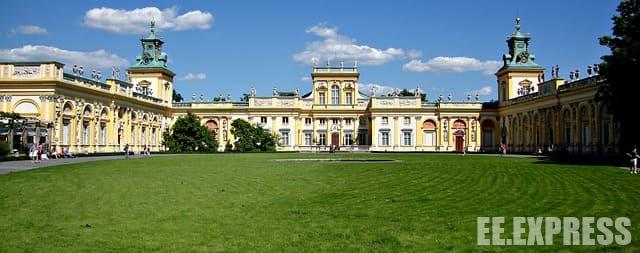 Sights of Warsaw - Wilanów Palace
